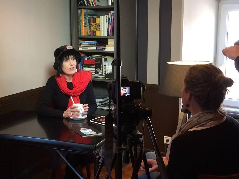 """Enregistrement ce soir """"Chez Cathy"""" de l'interview de Marie Penn'Du pour Tébéo - Diffusion le 20 janvier 2017"""